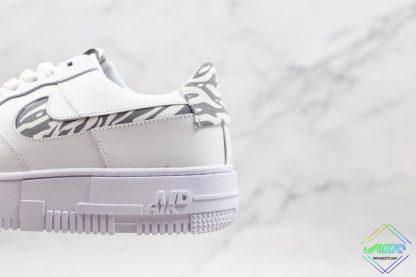 Nike Air Force 1 Pixel Zebra Print shoes