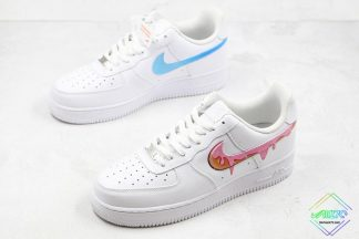 Nike Air Force 1 What the Water Droplets Swoosh sneaker
