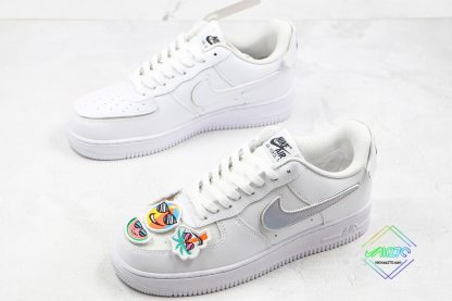 Nike Air Force 1 White Have Some Fun