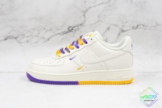 Nike Air Force 1 White Lakers Los Angeles