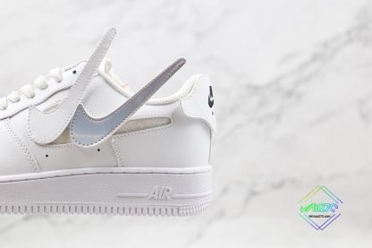 Nike Air Force 1 White Removable swoosh