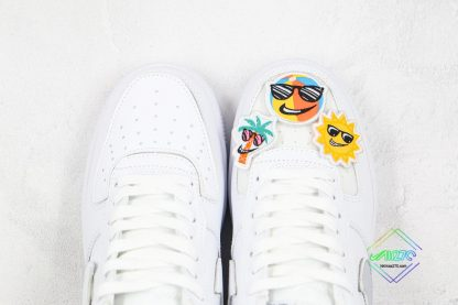 Nike Air Force 1 White Removable vamp