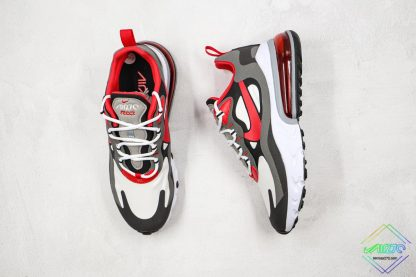 Nike Air Max 270 React University Red grey front