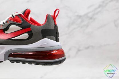 Nike Air Max 270 React University Red lateral side