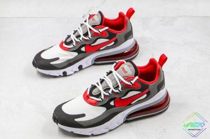 Nike Air Max 270 React University Red sneaker