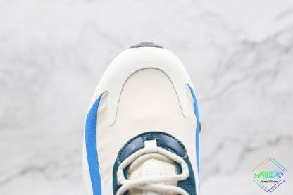 Nike Air Max React 270 White Blue Orange vamp