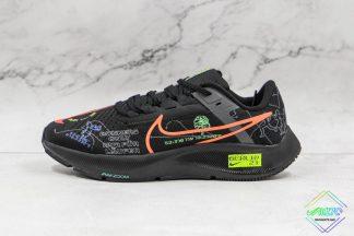 Nike Air Zoom Pegasus 38 Black Graffiti
