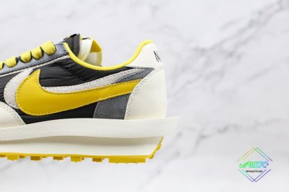 Undercover x Sacai x Nike LDWaffle Bright Citron shoes