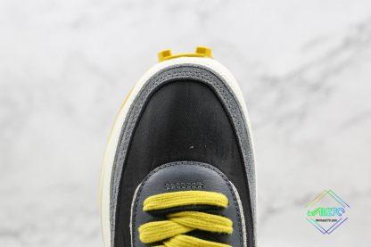 Undercover x Sacai x Nike LDWaffle Bright Citron vamp