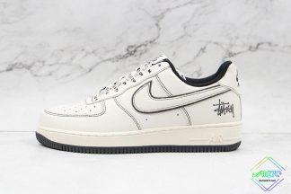 Nike Air Force 1 Low Stussy Black Stitching