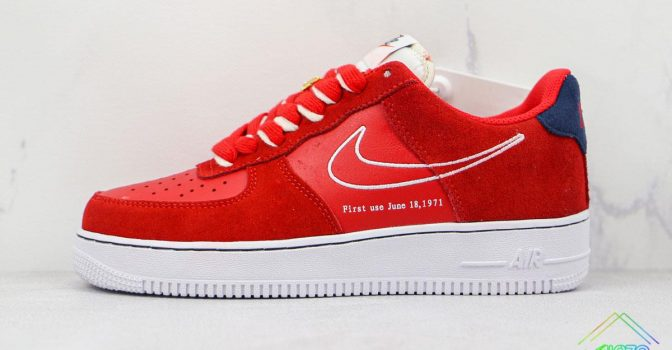 Air Force 1 Low Nike First Use University Red