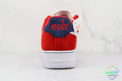 Air Force 1 Low Nike First Use University Red heel
