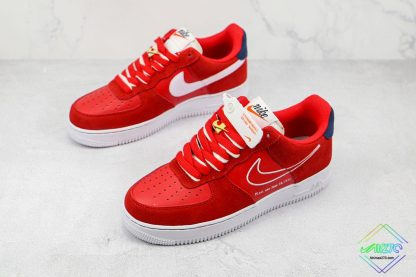 Air Force 1 Low Nike First Use University Red overall