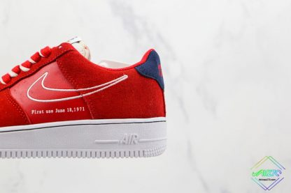 Air Force 1 Low Nike First Use University Red suede