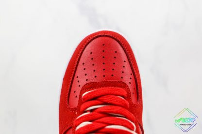Air Force 1 Low Nike First Use University Red vamp