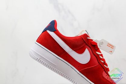 Air Force 1 Low Nike First Use University Red white swoosh