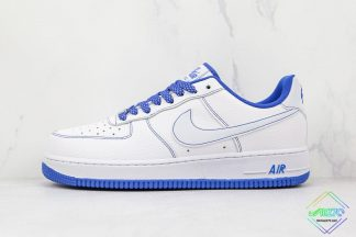 Air Force 1 Low Nike White Blue Stitching