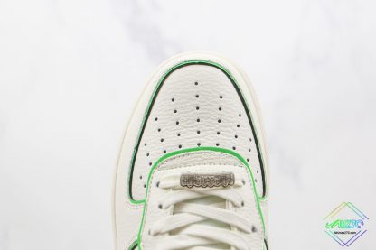 Air Force 1 Low Nike White Candy Green front