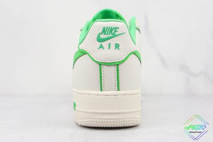 Air Force 1 Low Nike White Candy Green heel