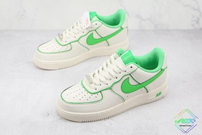 Air Force 1 Low Nike White Candy Green overall