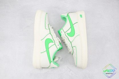 Air Force 1 Low Nike White Candy Green panling