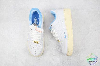 Kith x Nike Air Force 1 Low Hawaii tongue