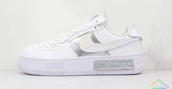 Nike Air Force 1 Fontanka White Silver