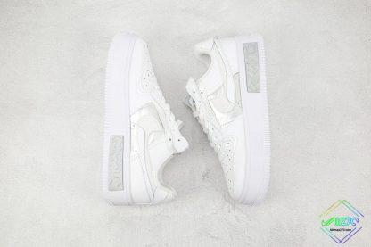 Nike Air Force 1 Fontanka White Silver outsole