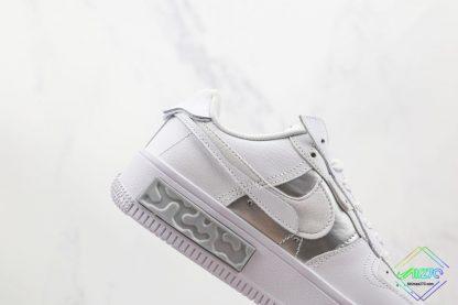 Nike Air Force 1 Fontanka White Silver sneaker