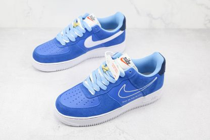 Nike Air Force 1 Low First Use University Blue overall