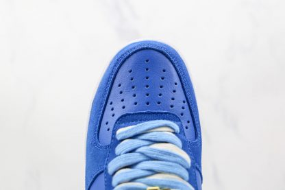 Nike Air Force 1 Low First Use University Blue vamp