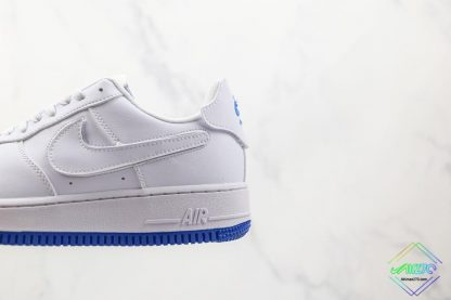 Nike Air Force 1 Sapphire Blue Interchangeable Swooshes 2021