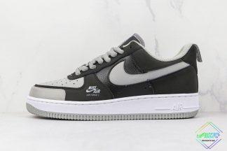 Nike Air Force 1 Shadow Black Shadow Grey