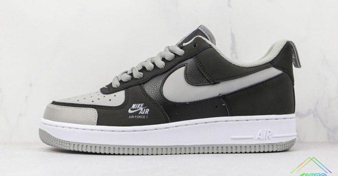 Nike Air Force 1 Black Shadow Grey