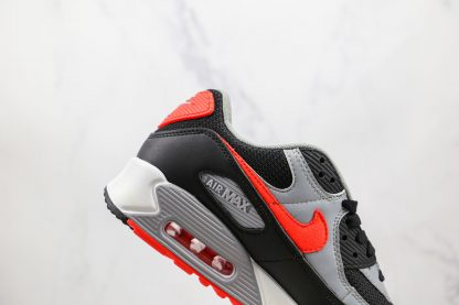 Nike Air Max 90 Infrared Radiant Red black