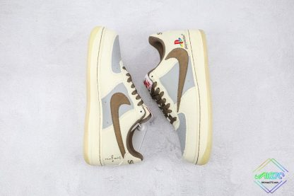 Travis Scott x Playstation Nike Air Force 1 brown