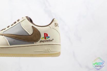 Travis Scott x Playstation Nike Air Force 1 detail look