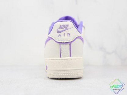 Wmns Nike Air Force 1 White Lavendel heel