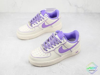 Wmns Nike Air Force 1 White Lavendel overall