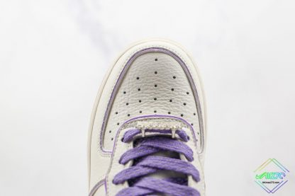 Wmns Nike Air Force 1 White Lavendel vamp