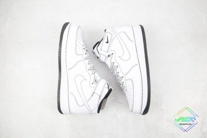 Air Force 1 '07 Mid Contrast Stitch panling