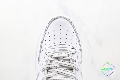 Air Force 1 '07 Mid Contrast Stitch vamp