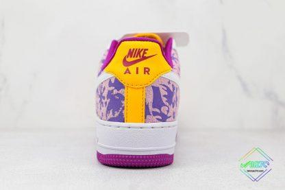 Nike Air Force 1 Low International Womens Day heel