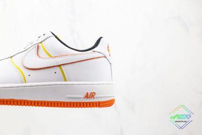 Nike Air Force 1 Low White Orange 202