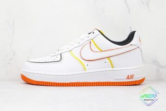 Nike Air Force 1 Low White Orange
