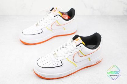 Nike Air Force 1 Low White Orange overall
