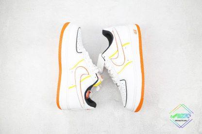 Nike Air Force 1 Low White Orange sale
