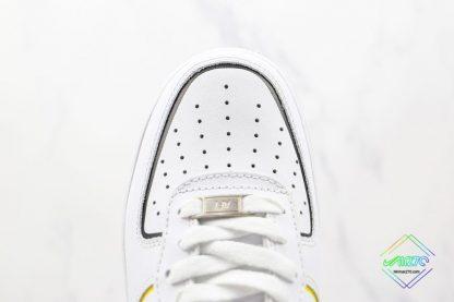 Nike Air Force 1 Low White Orange vamp