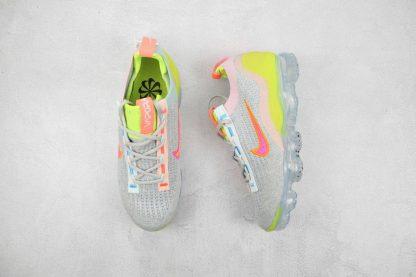 Nike Air VaporMax 2021 Grey Volt FK front look