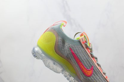 Nike Air VaporMax 2021 Grey Volt FK lateral side
